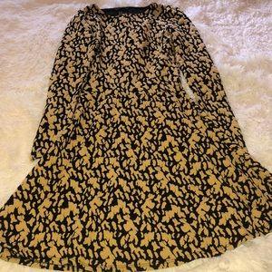 H&M Long-Sleeved Skater Dress